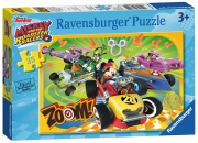 Disney Mickey and The Roadster 35 Piece Jigsaw Puzzle Game