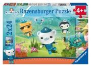 Octonauts Resscue Mission 2x24 Piece Jigsaw Puzzle Game