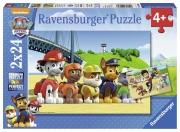Paw Patrol 'Team' 2x24 Piece Jigsaw Puzzle Game
