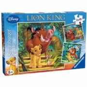 Disney The Lion King 3x49 Piece Jigsaw Puzzle Game