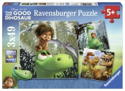 Disney The Good Dinosaur 3x49 Piece Jigsaw Puzzle Game