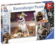The Secret Life of Pets 3x49 Piece Jigsaw Puzzle Game