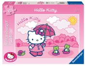 Hello Kitty Taking a Stroll 125 Piece Jigsaw Puzzle Game