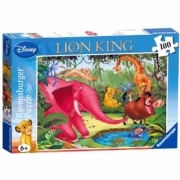 Disney The Lion King 100 Piece Jigsaw Puzzle Game