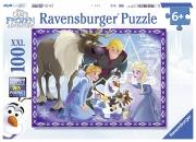 Disney Frozen 'Olaf' S Adventures' XXL 100 Piece Jigsaw Puzzle Game