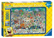Spongebob Squarepants XXL 100 Piece Jigsaw Puzzle Game