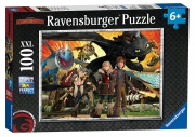 How To Train Your Dragon 'XXL' 100 Piece Jigsaw Puzzle Game