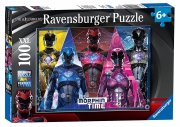 Power Rangers Movie 'XXL' 100 Piece Jigsaw Puzzle Game