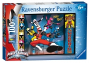 Power Rangers Dino Charge XXL 100 Piece Jigsaw Puzzle Game