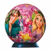 Disney Rapunzel Raiponce 108 Piece Ball Jigsaw Puzzle Game