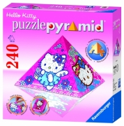 Hello Kitty 'Pyramid' 3d 240 Piece Jigsaw Puzzle Game