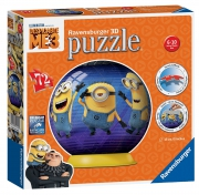 Despicable Me 3 'Minions' 3d 72 Piece Ball Jigsaw Puzzle Game