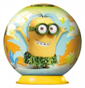 Minions Movie 3d 72 Piece Ball Jigsaw Puzzle Game