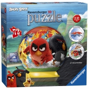 Angry Birds '72 Piece 3d' Ball Jigsaw Puzzle Game
