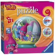 Trolls '72 Piece 3d' Ball Jigsaw Puzzle Game