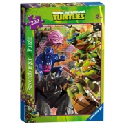Teenage Mutant Ninja Turtles 200 Piece Jigsaw Puzzle Game