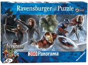 The Avengers 'Super Heroes' Panorama 200 Piece Jigsaw Puzzle Game