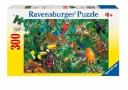 Wild Jungle XXL 300 Piece Jigsaw Puzzle Game