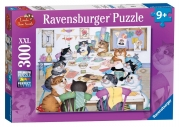 Crazy Cats Make Do and Mend 300 Piece Jigsaw Puzzle Game