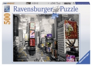 View of Times Square 500 Piece Jigsaw Puzzle Game
