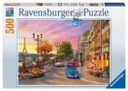 Ravensburger 'a Paris Evening' 500 Piece Jigsaw Puzzle Game