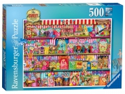 Ravensburger 'The Sweet Shop' 500 Piece Jigsaw Puzzle Game