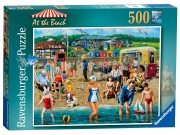 Ravensburger 'At The Beach' 500 Piece Jigsaw Puzzle Game