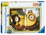 Ravensburger Minions 'Fire Friend Or Foe' 500 Piece Jigsaw Puzzle Game