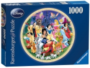 Disney World of 1000 Piece Jigsaw Puzzle Game