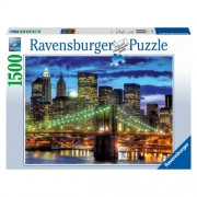 New York City Skyline 1500 Piece Jigsaw Puzzle Game