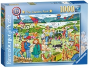 Ravensburger The Country Park 1000 Piece Jigsaw Puzzle Game