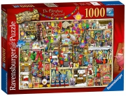 The Christmas Cupboard 1000 Piece Jigsaw Puzzle Game