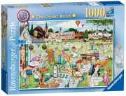 Ravensburger Best of British The Cricket Match 1000 Piece Jigsaw Puzzle Game