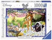 Disney Collector'S Edition ' Bambi' 1000 Piece Jigsaw Puzzle Game