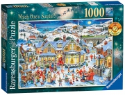 Which One' S Santa? 1000 Piece Jigsaw Puzzle Game
