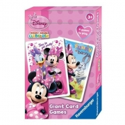 Disney Minnie Mouse Giant Card Game Puzzle