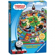 Thomas The Tank Engine Steaming Around Sodor Board Game Puzzle