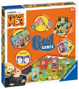 Despicable Me 3 'Minions' 6 In 1 Board Game