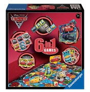 Disney Pixar Cars 3 6 In 1 Board Game