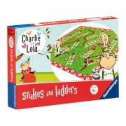 Charlie and Lola Snakes Ladders Puzzle