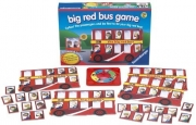 Big Red Bus Game Board Puzzle