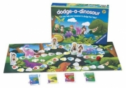 Dodge-a-dinosaur Board Game Puzzle