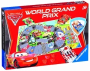 Disney Cars 2 'World Grand Prix' Board Game Puzzle