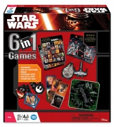 Disney Star Wars 'The Force Awakens' 6 In 1 Board Games Game