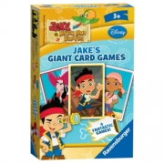 Disney Jake and The Never Land Pirates Giant Card Game Puzzle