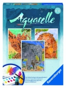 Aquarelle Midi 'Safari' Watercolor Stationery