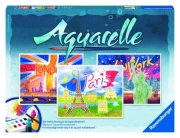 Aquarelle Maxi 'World Cities' Watercolor Stationery