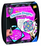Monster High Mini Mandala Designer Puzzle