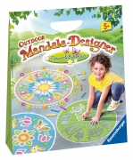 Flowers and Butterflies 'Outdoor' Mandala Designer Puzzle