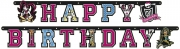 Monster High 5.9 Feet Letter Banner Party Accessories